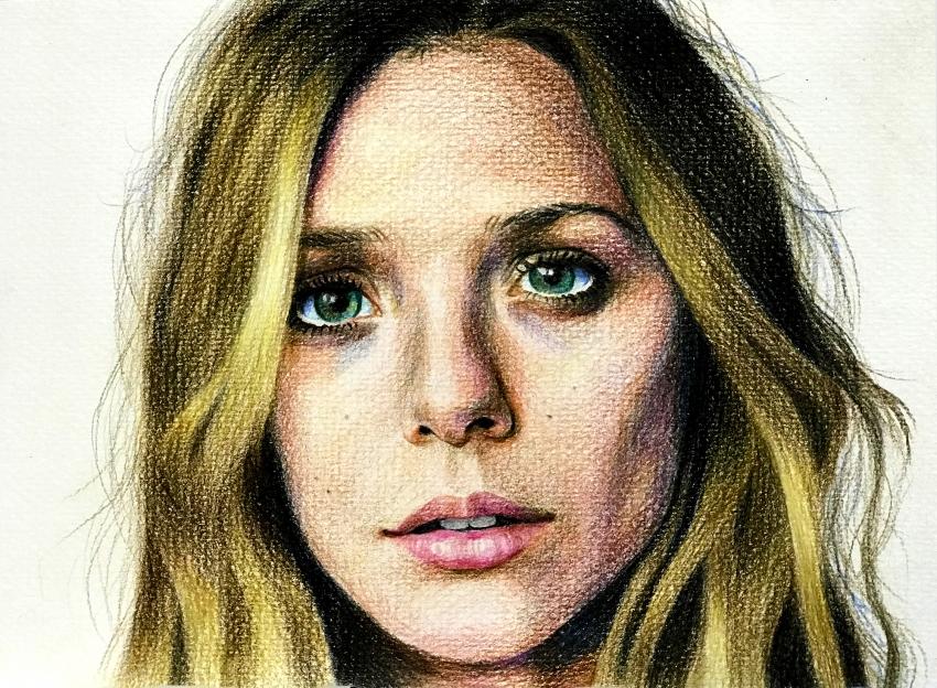 Elizabeth Olsen by sooyoon